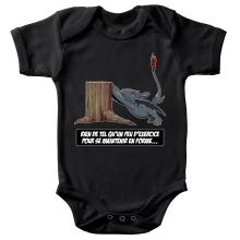 Body bébé  parodique Krokmou : Rien de tel qu