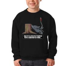 Sweat-shirts  parodique Krokmou : Rien de tel qu