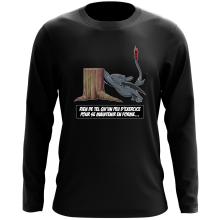 T-Shirt à manches longues  parodique Krokmou : Rien de tel qu