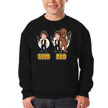 Pull Enfant  parodique Le Duo Han Solo et Chewbacca : Solo Duo :) (Parodie )