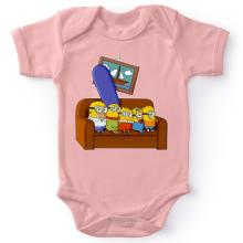 Body bébé (Filles)  parodique Les Minions et Homer Simpson : The Simnions (Parodie )