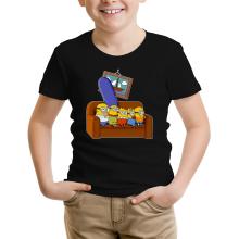 T-shirt Enfant  parodique Les Minions et Homer Simpson : The Simnions (Parodie )