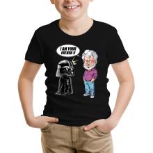 T-shirts  parodique Dark Vador et George Lucas - I am your Father : Un père pas si inconnu que ça... :) (Version Originale) (Parodie )