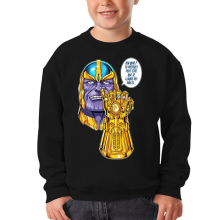 Sweat-shirts  parodique Thanos le Super-Vilain d