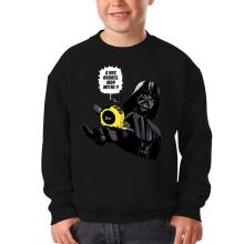 Sweat-shirts  parodique Dark Vador : A vos ordres, mon Mètre... !! (Parodie )