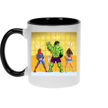 Mugs  parodique Wonder Woman, l