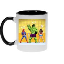 Mug  parodique Wonder Woman, l
