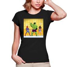 T-shirts Femmes  parodique Wonder Woman, l