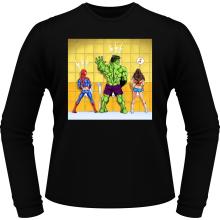 T-Shirts à manches longues  parodique Wonder Woman, l