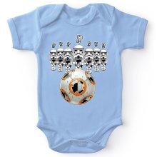 Body bébé  parodique BB-8 Vs les Stormtroopers : BB Bowling... (Parodie )