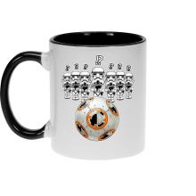 Mug  parodique BB-8 Vs les Stormtroopers : BB Bowling... (Parodie )