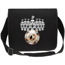 Sac bandoulière Canvas  parodique BB-8 Vs les Stormtroopers : BB Bowling... (Parodie )