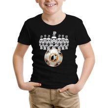 T-shirt Enfant  parodique BB-8 Vs les Stormtroopers : BB Bowling... (Parodie )