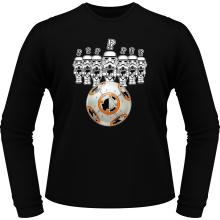 T-Shirts à manches longues  parodique BB-8 Vs les Stormtroopers : BB Bowling... (Parodie )