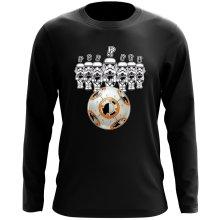 T-Shirt à manches longues  parodique BB-8 Vs les Stormtroopers : BB Bowling... (Parodie )