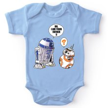 Body bébé  parodique R2-D2 et BB-8 : BB, I am your father (VO) (Parodie )