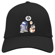 Casquette  parodique R2-D2 et BB-8 : BB, I am your father (VO) (Parodie )