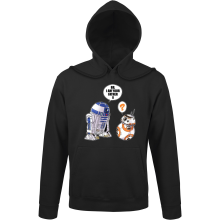 Sweats à capuche  parodique R2-D2 et BB-8 : BB, I am your father (VO) (Parodie )
