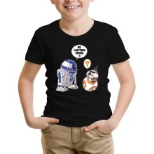 T-shirt Enfant  parodique R2-D2 et BB-8 : BB, I am your father (VO) (Parodie )