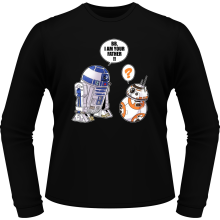 T-Shirts à manches longues  parodique R2-D2 et BB-8 : BB, I am your father (VO) (Parodie )