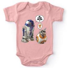 Bodys  parodique BB-8 et R2-D2 : BB, je suis ton père !! (Parodie )