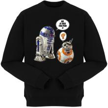 Pulls  parodique BB-8 et R2-D2 : BB, je suis ton père !! (Parodie )