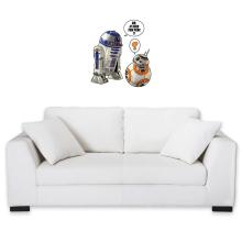Sticker Mural  parodique BB-8 et R2-D2 : BB, je suis ton père !! (Parodie )