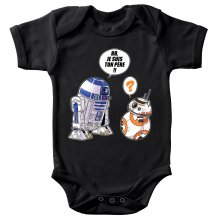 Body bébé  parodique BB-8 et R2-D2 : BB, je suis ton père (Super Deformed Edition) (Parodie )