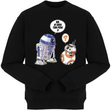 Pulls  parodique BB-8 et R2-D2 : BB, je suis ton père (Super Deformed Edition) (Parodie )