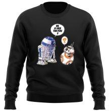 Pull  parodique BB-8 et R2-D2 : BB, je suis ton père (Super Deformed Edition) (Parodie )
