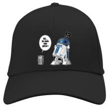Casquette  parodique R2-D2 - Je suis ton père : Boîte de conserve ... (Parodie )