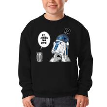 Sweat-shirts  parodique R2-D2 - Je suis ton père : Boîte de conserve ... (Parodie )