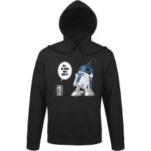 Sweat à capuche  parodique R2-D2 - Je suis ton père : Boîte de conserve ... (Parodie )