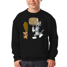 Sweat-shirts  parodique Itchy et Scratchy Vs Tom et Jerry : Chat et Souris Show :) (Parodie )