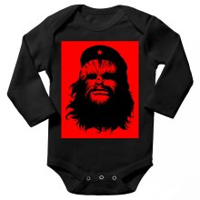 Body bébé manches longues  parodique Chewbacca : Chewie Guevara (Parodie )