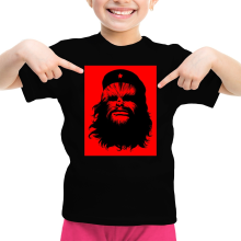 T-shirt Enfant Fille  parodique Chewbacca : Chewie Guevara (Parodie )