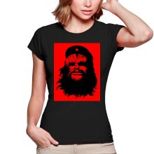 T-shirt Femme  parodique Chewbacca : Chewie Guevara (Parodie )