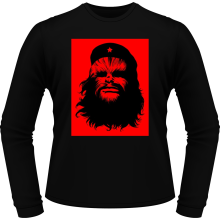 T-Shirts à manches longues (French Days)  parodique Chewbacca : Chewie Guevara (Parodie )