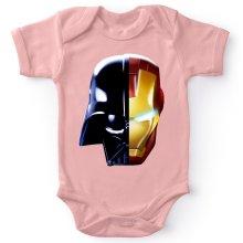 Body bébé (Filles)  parodique Dark Vador, Iron Man et Daft Punk : Dark Punk - Get Darky :) (Parodie )