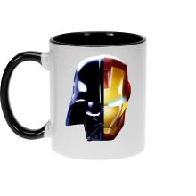 Mug  parodique Dark Vador, Iron Man et Daft Punk : Dark Punk - Get Darky :) (Parodie )