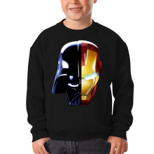 Sweat-shirts  parodique Dark Vador, Iron Man et Daft Punk : Dark Punk - Get Darky :) (Parodie )