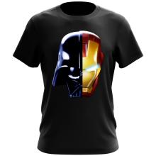 T-shirt  parodique Dark Vador, Iron Man et Daft Punk : Dark Punk - Get Darky :) (Parodie )