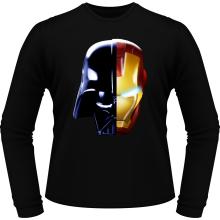 T-Shirts à manches longues  parodique Dark Vador, Iron Man et Daft Punk : Dark Punk - Get Darky :) (Parodie )