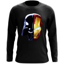 T-Shirt à manches longues  parodique Dark Vador, Iron Man et Daft Punk : Dark Punk - Get Darky :) (Parodie )