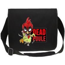 Sacs bandoulière Canvas (French Days)  parodique Deadpool ou Dead Poule : Dead Poule (Parodie )