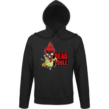 Sweat à capuche  parodique Deadpool ou Dead Poule : Dead Poule (Parodie )