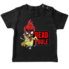 T-shirts (French Days)  parodique Deadpool ou Dead Poule : Dead Poule (Parodie )