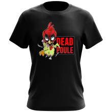 T-shirt  parodique Deadpool ou Dead Poule : Dead Poule (Parodie )