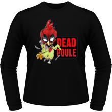 T-Shirts à manches longues (French Days)  parodique Deadpool ou Dead Poule : Dead Poule (Parodie )
