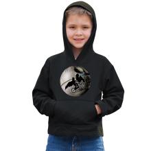 Sweat à capuche Enfant  parodique Dark Vador et l